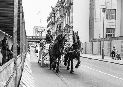 Pferdekutsche Berlin Charité