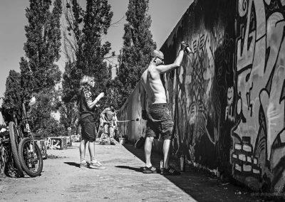Vater und Sohn Wall Painting