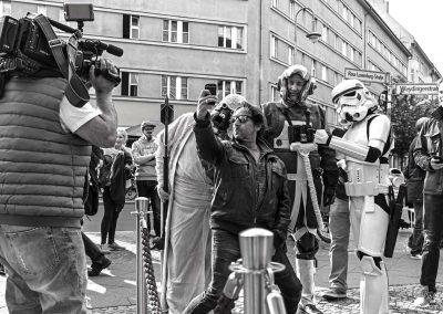 40 Jahre Star Wars mit Selfieman Dieter Landuris