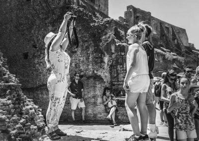 Fotoshooting im Kolosseum Rom