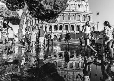 Kolosseum Spiegelung