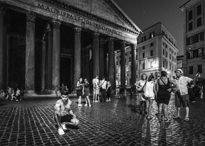 Pantheon Roma Selfie